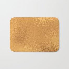 Simply Metallic in Bronze Bath Mat