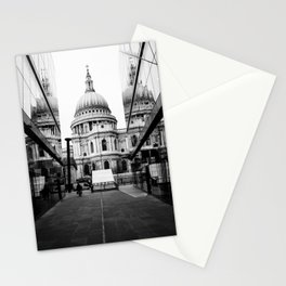 St Paul's Cathedral London Black and white Stationery Cards
