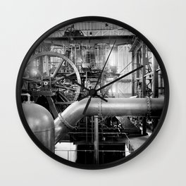 Calumet and Hecla stamp mill, Lake Linden, Michigan  Wall Clock