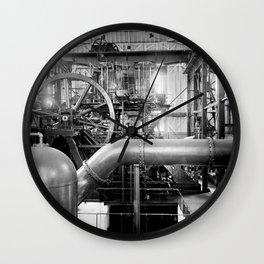 Calumet and Hecla stamp mill, Lake Linden, Michigan  Wall Clock