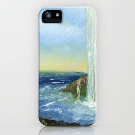 Waterfall Art By Daniel MacGregor iPhone Case