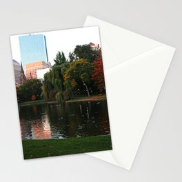 Boston Gardens Stationery Cards