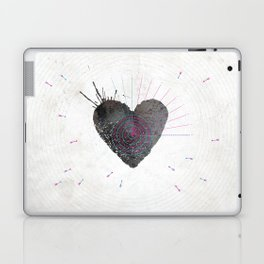 your heart is my target Laptop & iPad Skin