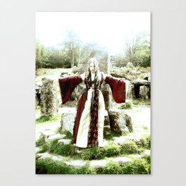 Scarred With Steel Canvas Print
