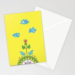 ETHNO BIRDS Stationery Cards