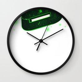 Storm Tech Green Wall Clock