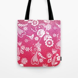 Birds, Flowers, etc. Tote Bag