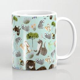 Mustelids from Spain pattern Coffee Mug