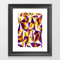 ∆ IV Framed Art Print