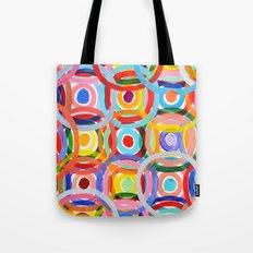 Ornamental Polka Daubs Tote Bag