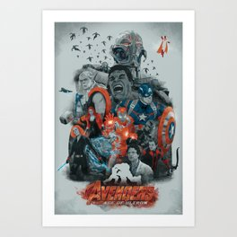 Age of ultron Art Print