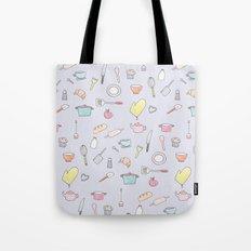 Cooking Pattern Tote Bag