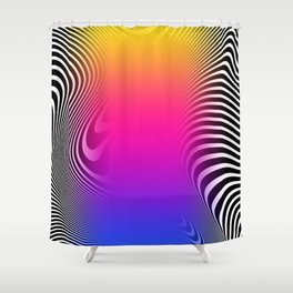 Indecisive State Shower Curtain