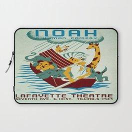 Vintage poster - Noah's Ark Laptop Sleeve