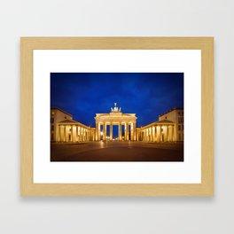 BERLIN Brandenburg Gate Framed Art Print