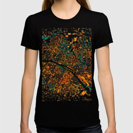 Paris mosaic map #3 T-shirt