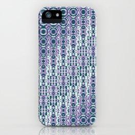"Cos(a × (n × j^2 + k × i^2)) × 0.7 [""70s Pattern""] - [PIXEL ZOOM] iPhone Case"