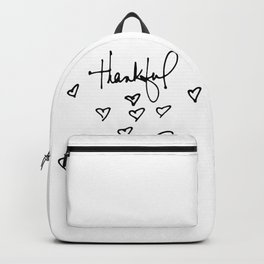 Thankful by Kathy Morton Stanion Backpack