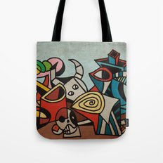 Still Life in Cubism Tote Bag