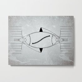 Either way is the right way Metal Print