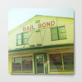 Southern Bail Bonds Metal Print