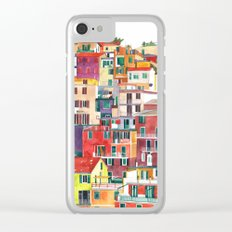 Cinque Terre Clear iPhone Case