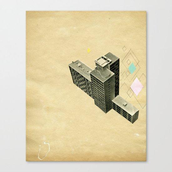 The Modern World Canvas Print