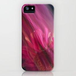 Abstract Pink Gerbera Daisy-Fleur Blur Series iPhone Case