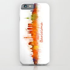 Barcelona City Skyline Hq _v3 Slim Case iPhone 6s
