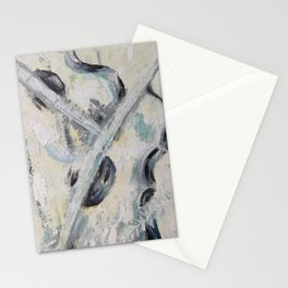 Violins, duet, classical music, musical instrument, love, soft gentle original oil painting by Luna Smith Stationery Cards