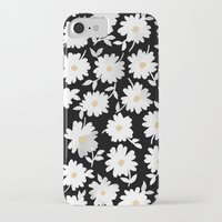 pushing daisies iPhone & iPod Cases featuring Daisies by leah reena goren