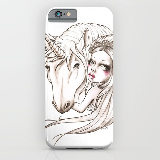 Her first Unicorn iPhone & iPod Case
