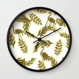 FLAMO Wall Clock