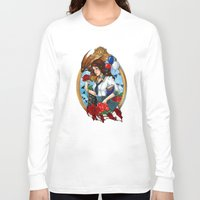 bioshock infinite Long Sleeve T-shirts featuring BioShock Infinite by Little Lost Forest