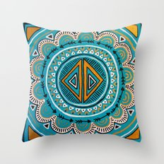 The Gulf Throw Pillow