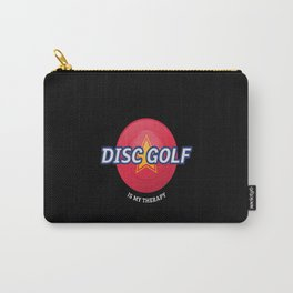 Disc Golf Is My Therapy - Frisbee golf Carry-All Pouch