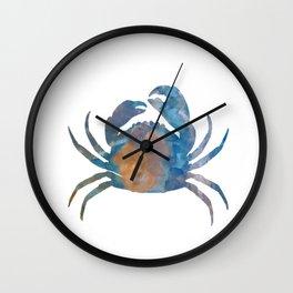 A Crab Wall Clock