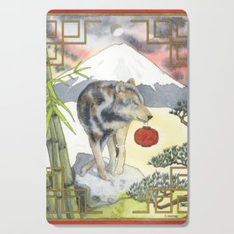 2018 Chinese New Year of the Earth Dog Cutting Board