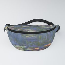 Water Lilies - Claude Monet Fanny Pack