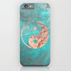 Yin Yang - Rose Turquoise Marble iPhone 6s Slim Case