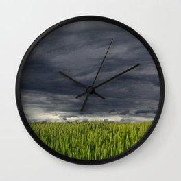 The Dark Sky Wall Clock