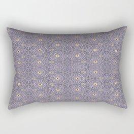 Purple Antique Whimsy Rectangular Pillow