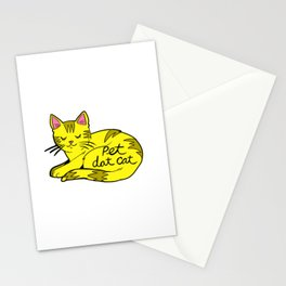 Pet Dat Cat Stationery Cards