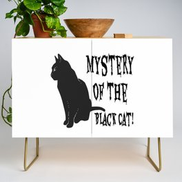 Mystery Of The Black Cat! Credenza