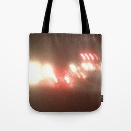 Abstracte Light Art in the Dark 8 Tote Bag