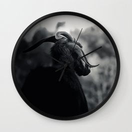 To the right Wall Clock