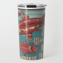 Red Herrings Travel Mug