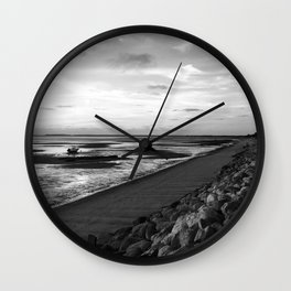 Cool Day in Cape Cod Wall Clock