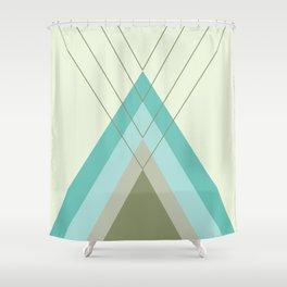 Iglu Oliva Retro Shower Curtain