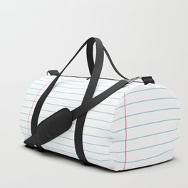 Notepaper Duffle Bag